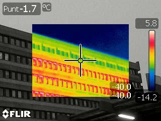 Metifix infrarood meting voorbeeld