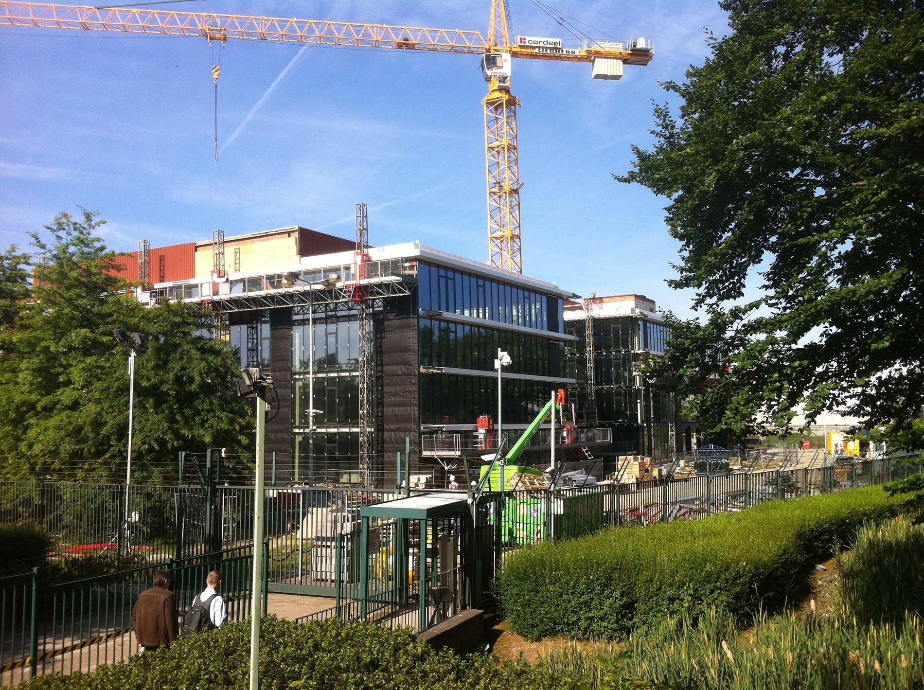 KBC Mechelen renovatie datacenter