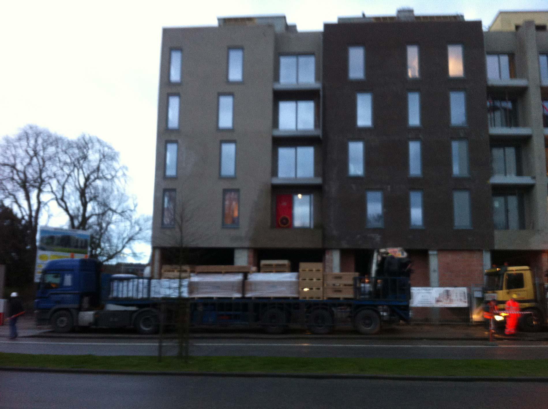 Metingen appartementen Dendermonde