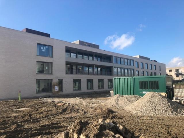 Blowerdoortest woonzorgcentrum Eernegem