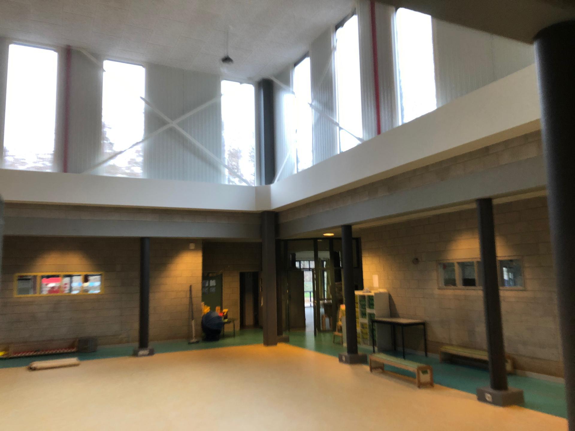Blowerdoortest en akoestische metingen Marnixschool Schoten
