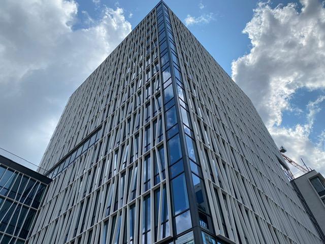 Blowerdoortesten kantoorgebouw COPERNICUS BRUSSEL iov Maes