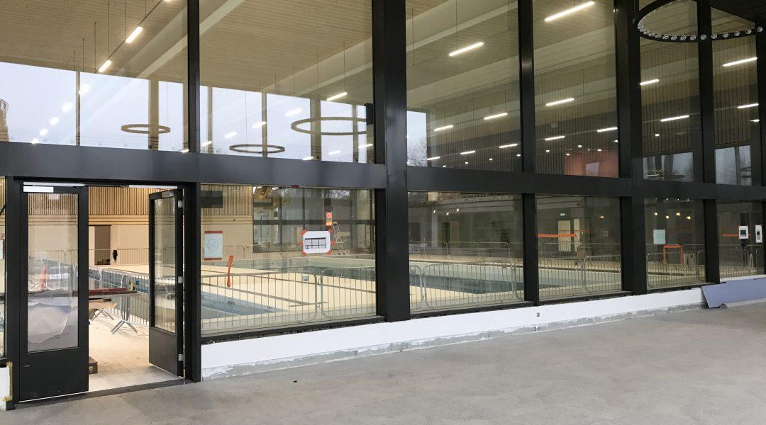Blowerdoortest zwembad te Mol